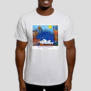Sydney Painting On T-Shirt