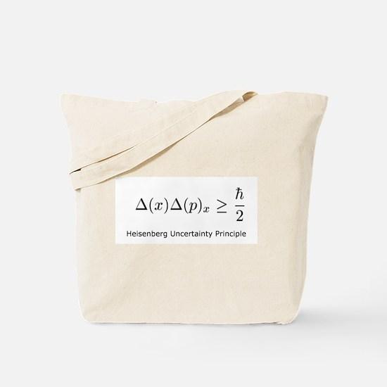 Heisenberg Uncertainty Princi Tote Bag
