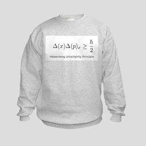 Heisenberg Uncertainty Princi Kids Sweatshirt