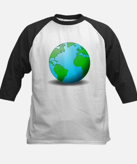 Earth Globe Baseball Jersey