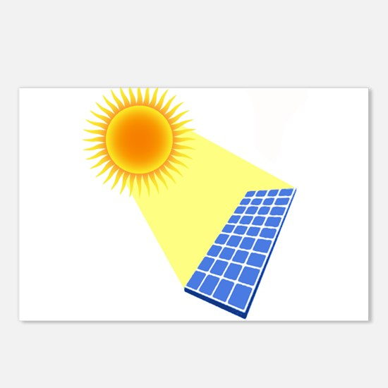 Solar Panel Under the Sun Postcards (Package of 8)