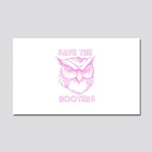 Save The Hooters Car Magnet 20 x 12