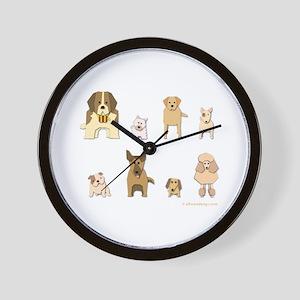 Woof Gang Line Up! Wall Clock