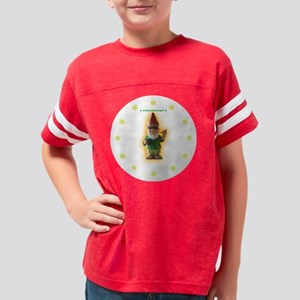4-GnomieClock Youth Football Shirt