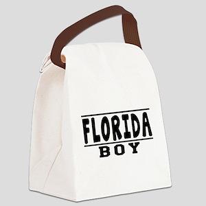 Florida Boy Designs Canvas Lunch Bag