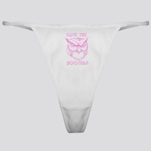 Save The Hooters Classic Thong