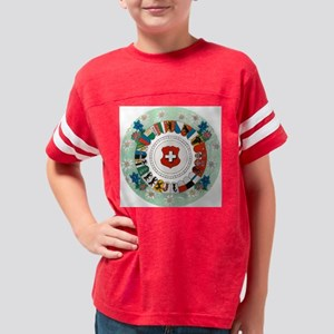 cantonWheel5 Youth Football Shirt