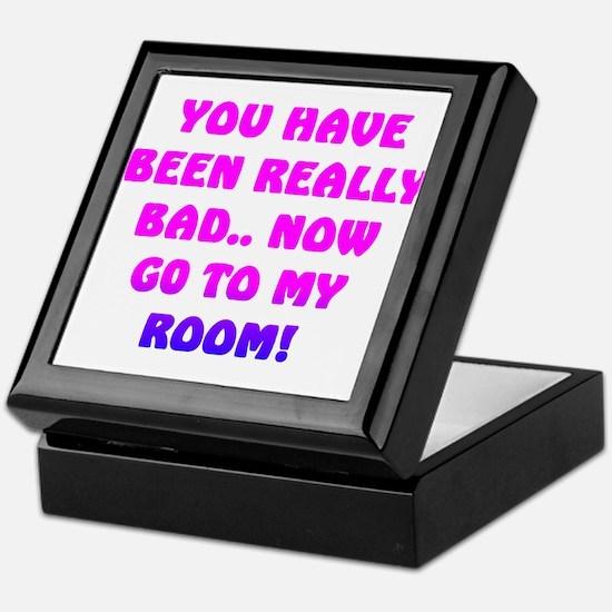 U HAVE BEEN REALLY BAD..3 Keepsake Box