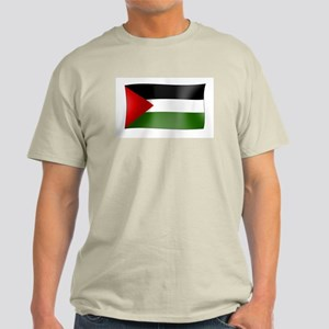 Flag of Palestine Ash Grey T-Shirt