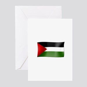 Flag of Palestine Greeting Cards (Pk of 10)