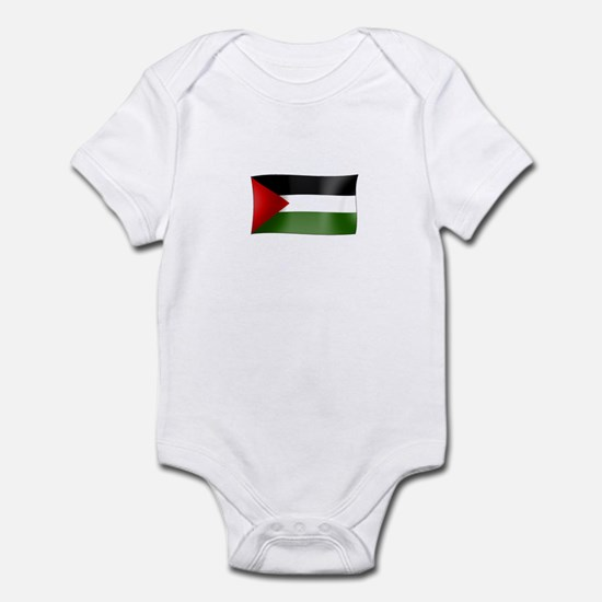 Flag of Palestine Infant Bodysuit