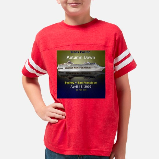 Autumn Dawn Trans Pacific Apr Youth Football Shirt