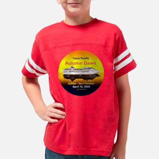 Autumn Dawn Trans Pacific Cru Youth Football Shirt