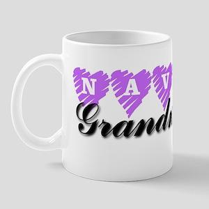 NAVY Grandma Mug
