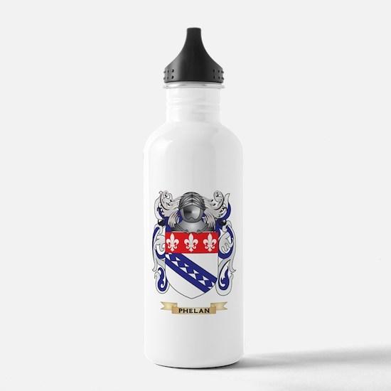 Phelan Coat of Arms (Family Crest) Water Bottle
