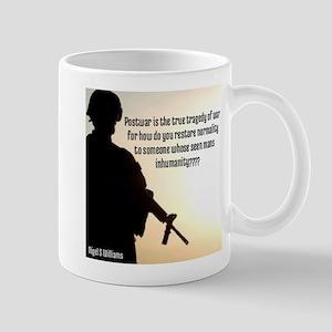 The Inhumanity Of War Mugs