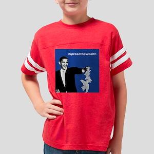 2-ispreadthewealth Youth Football Shirt