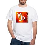 Capricorn White T-Shirt