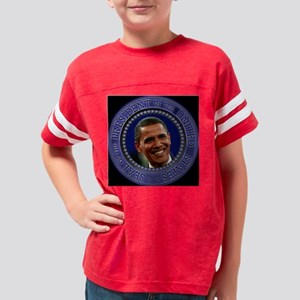 Presidential seal2 ornament2 Youth Football Shirt