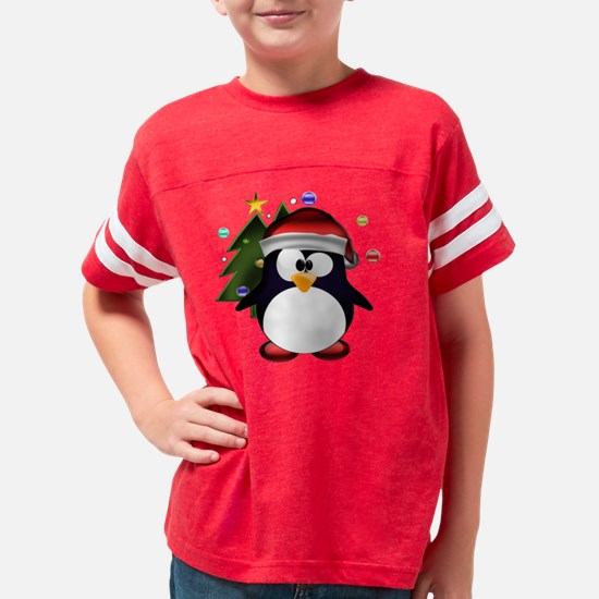 santa_claus_tux Youth Football Shirt