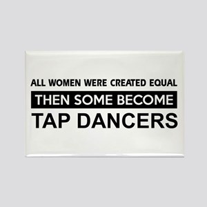 tap created equal designs Rectangle Magnet