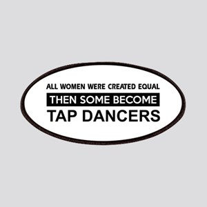 tap created equal designs Patches