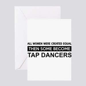 tap created equal designs Greeting Card