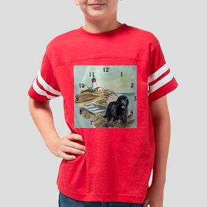 newf boat clock Youth Football Shirt