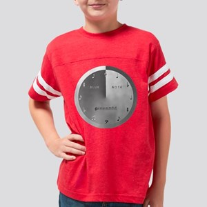 3-bluenote_largeclock_silver Youth Football Shirt