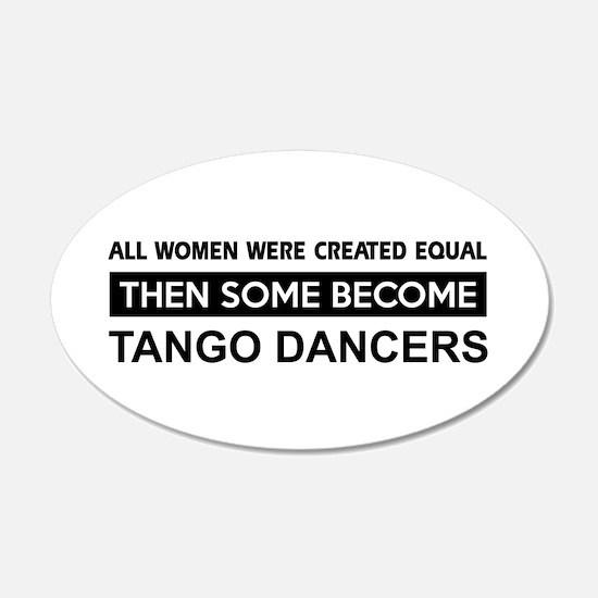 tango created equal designs Wall Decal