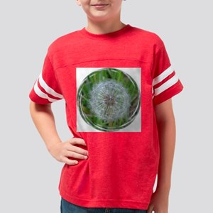 Dandelion Fuzzy edge Youth Football Shirt