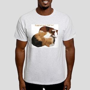 Piggies Ash Grey T-Shirt