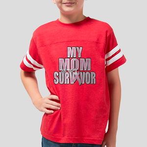 My Mom is a Survivor Youth Football Shirt