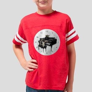 Piano3 - wallclock Youth Football Shirt