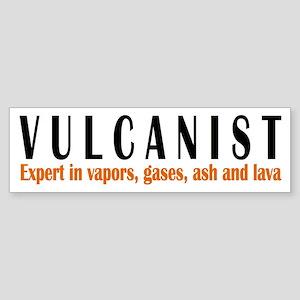 VULCANIST Bumper Sticker