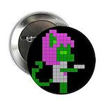 8 Bit Alien Neko With Gun 2.25&Quot; Button