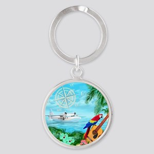 Tropical Travels Keychains