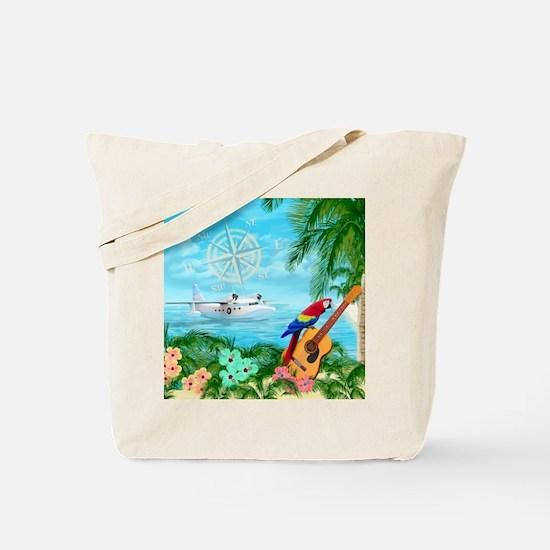 Tropical Travels Tote Bag