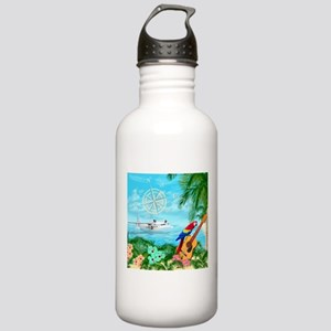 Tropical Travels Water Bottle