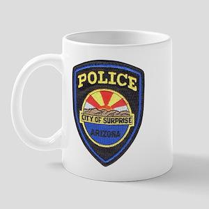 Surprise Police Mug