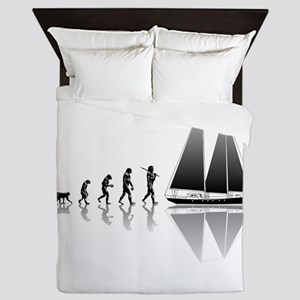 Sailing Evolution Queen Duvet