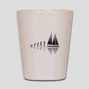 Sailing Evolution Shot Glass