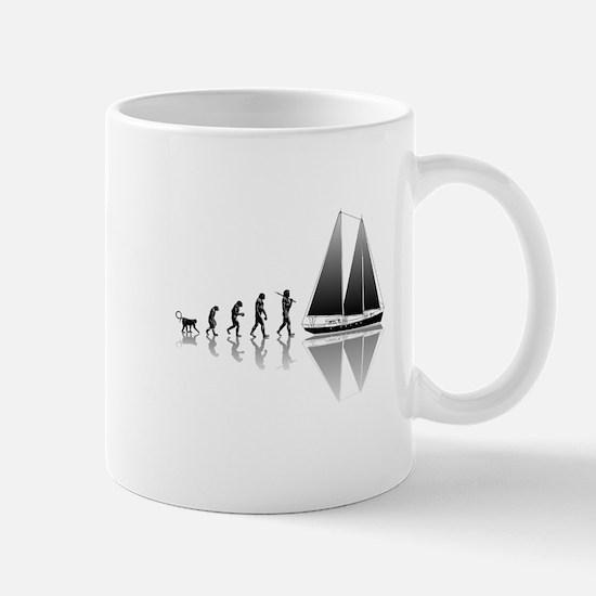 Sailing Evolution Mug