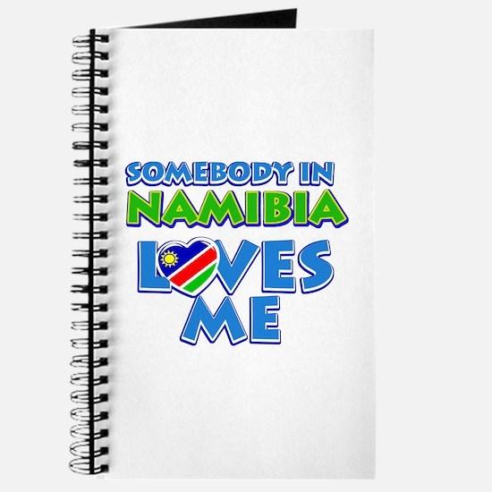 Somebody in Namibia Loves me Journal