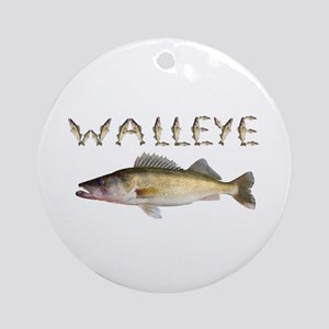 Perfect Walleye 2 Ornament (Round)