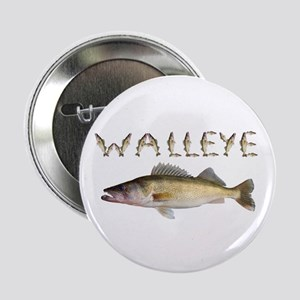 "Perfect Walleye 2 2.25"" Button"