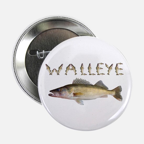 "Perfect Walleye 2 2.25"" Button"