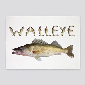 Perfect Walleye 2 5'x7'Area Rug