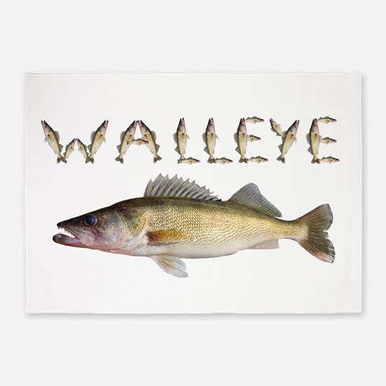 Perfect Walleye 2 5'x7'Area Rug