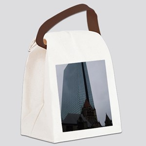 Boston Juxtaposed Canvas Lunch Bag